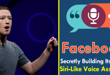 Facebook Secretly Building Its Own Siri-Like Voice Assistant