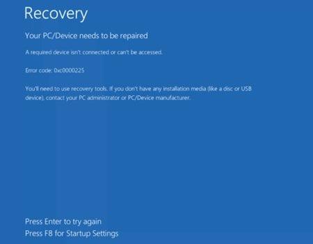 Fix the Windows 10 Automatic Repair Loop