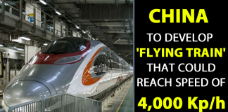 Flying Train At 4000 Kp/h: China Challenges Elon Musk's Hyperloop