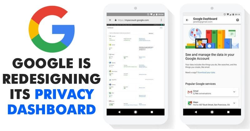 Google Dashboard Gets New Redesign To Improve Privacy ControlsGoogle Dashboard Gets New Redesign To Improve Privacy Controls