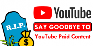 Google Will Discontinue YouTube Paid Content