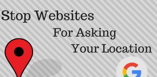 How to Stop Websites from Asking for Your Location