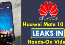 Huawei Mate 10 Lite Leaks In Hands-On Video