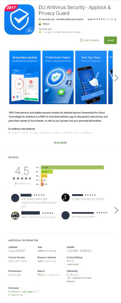 IMG 1 4 410x1024 - Beware! This Mobile Antivirus App Caught Siphoning User Data