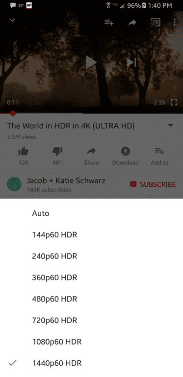 IMG 2 - YouTube Adds Support For HDR Video, Here Is The List Of Devices