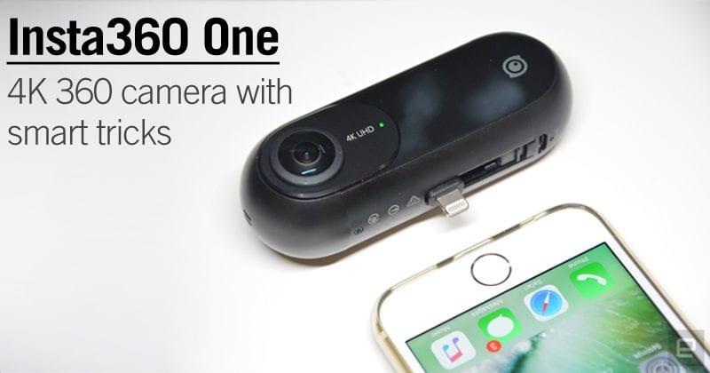 Insta360 One: A 4K 360 Camera With Smart Tricks