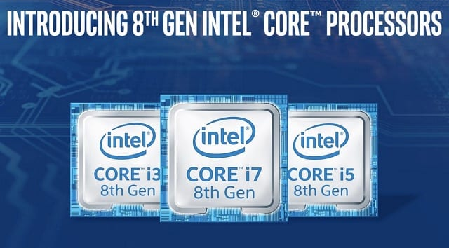 Intel 1 - Finally, Intel Announces Its 8th-Gen Coffee Lake Desktop Processors