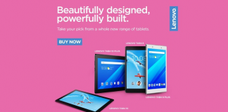 Lenovo Launches Four New Android Tablets In Its Tab 4 Series