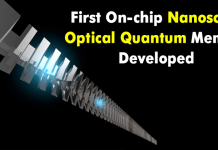 Meet The First On-Chip Nanoscale Optical Quantum Memory