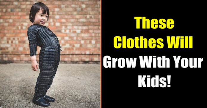 Meet The Smart & Clever Clothes That Grows With Your Child