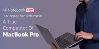 Mi Notebook Pro - A True Competitor Of MacBook Pro