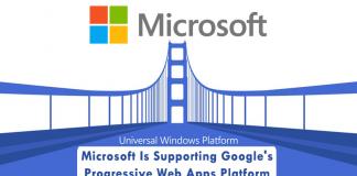 Microsoft Is Supporting Google's Progressive Web Apps Platform