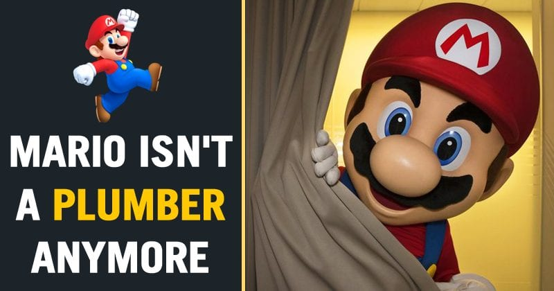 It's Official: Now Mario Is No Longer A Plumber