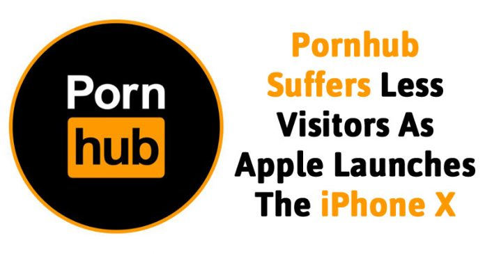 Pornhub Suffers Less Visitors As Apple Launches The iPhone X