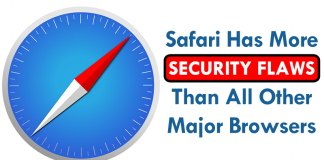 Safari Has More Security Flaws Than All Other Major Browsers Combined