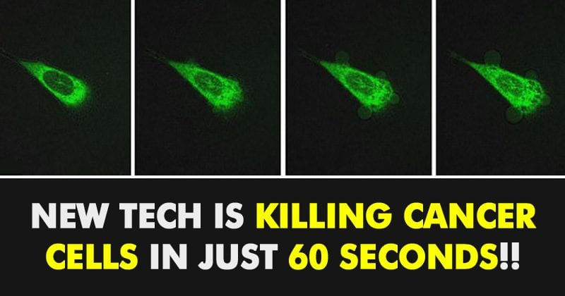 These Nanomachines Can Kill The Cancer Cells Just In 60 Sec