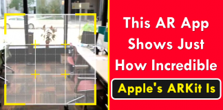 This AR Application Shows Just How Incredible Apple's ARKit Is