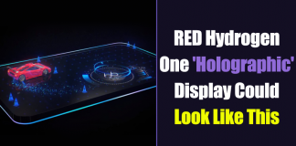 This Video Shows The RED Hydrogen One Holographic Display