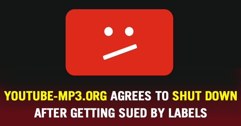 This YouTube Audio-Ripping Site Agrees To Shut Down After Getting Sued