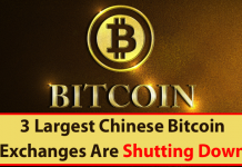 Three Biggest Chinese Bitcoin Exchanges Are Shutting Down