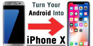Here's How To Turn Your Android Phone Into An iPhone X!