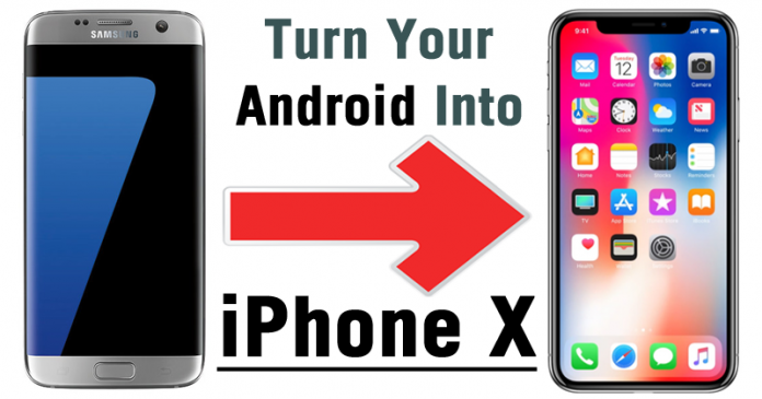 how to turn your android into a iphone here s how to turn your android phone into an iphone x 21166