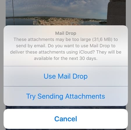 Use Apple Mail Drop to Send Large Files Online