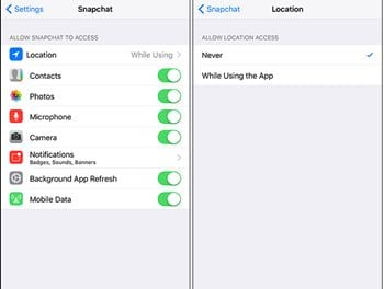 Use Snapchat Without Sharing Your Location