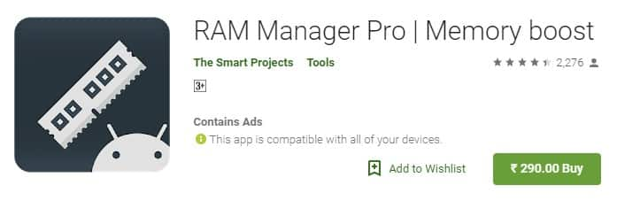 Using RAM Manager Pro
