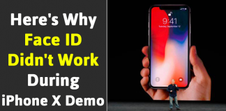 Apple: What Exactly Happened When Face ID FAILED During iPhone X Demo