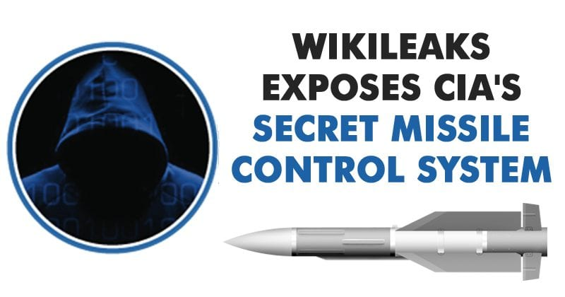 Wikileaks Just Unveiled CIA's Secret Missile Control System