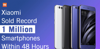 Xiaomi Sold Record 1 Million Smartphones Within 48 Hours In India