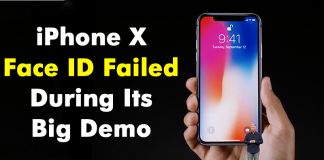 Apple iPhone X Face ID Failed During Its Big Demo
