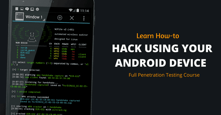 Android Hacking and Penetration Testing