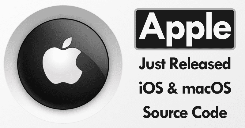 Apple Just Released iOS And macOS Source Code On Github