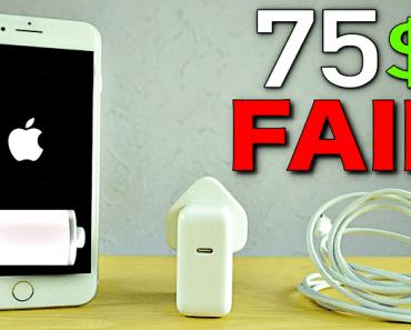 Apple iPhone 8 Plus Fast Charging Is A JOKE!