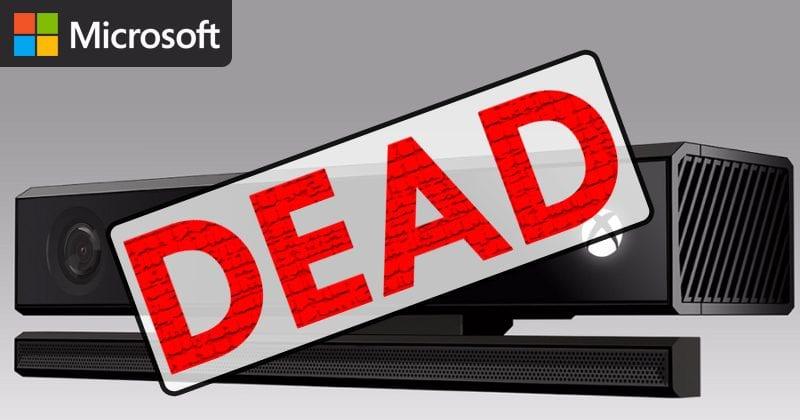 BIG NEWS! Microsoft's 'KINECT' Is Dead