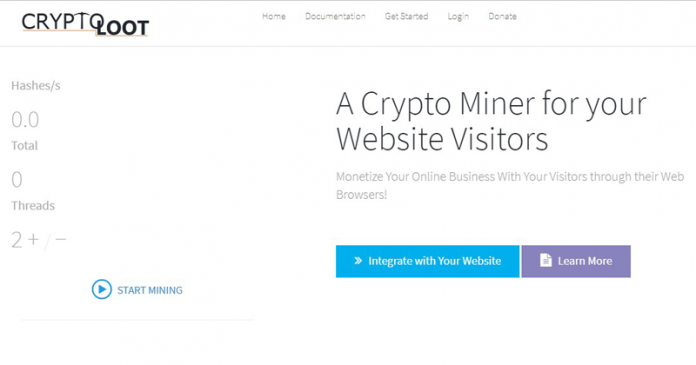 Crypto-Loot: A New Service That Helps Websites Steal Cryptocurrency Using Your CPU