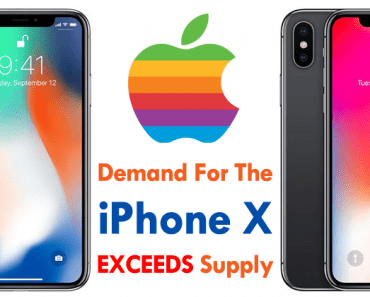 Apple: Demand For The iPhone X EXCEEDS Supply