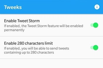 Enable Tweet Storm Feature on Twitter App in Android