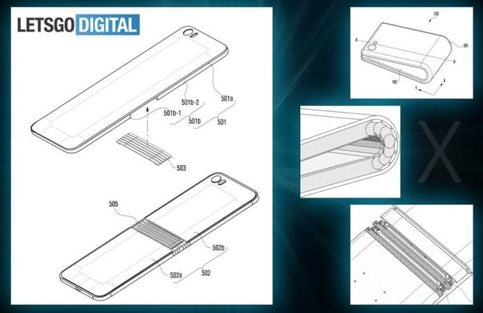 Galaxy X - Samsung Galaxy X Leak Shows Off Incredible Folding Smartphone Design