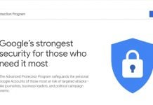 Google Announces Advanced Protection Program For Security