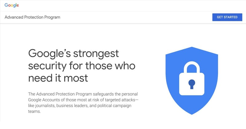 Google Announces Advanced Protection Program For Security