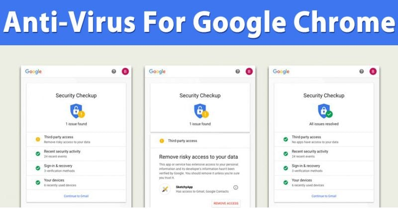Google Chrome For Windows Just Got Antivirus Features
