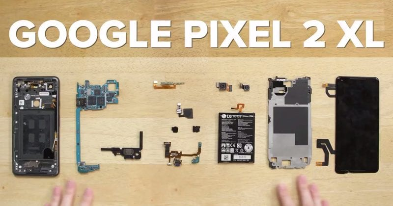 Google Pixel 2 XL Teardown Reveals What's Inside