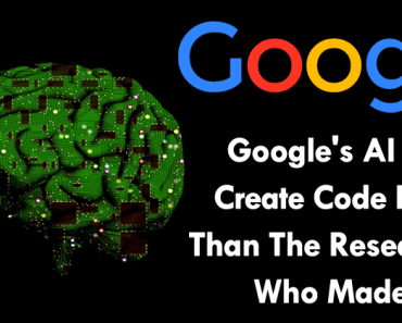 Google's AI Can Create Code Better Than The Researchers Who Made It