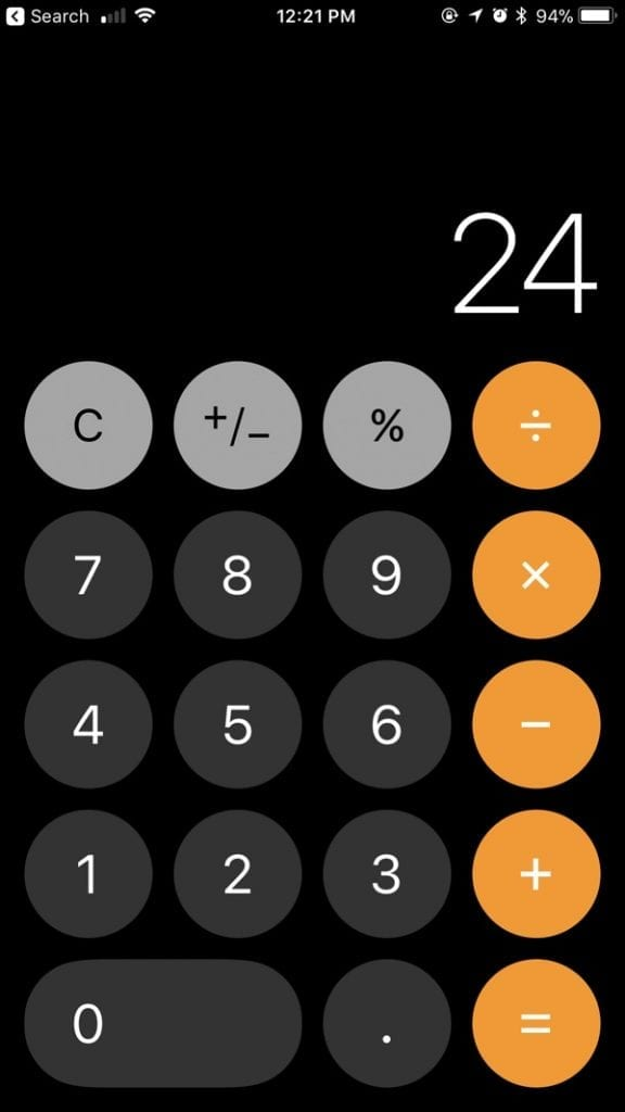 IMG 1 10 576x1024 - iOS 11 Bug: Typing 1+2+3 Quickly In The Calculator App Won't Get You 6