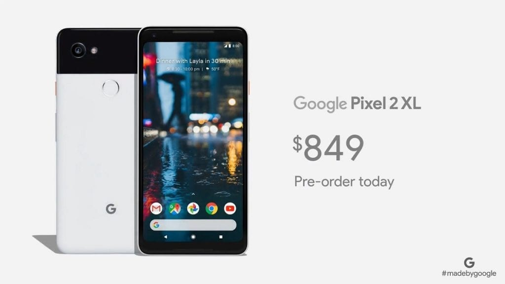 IMG 3 1024x576 - Google's Pixel 2 & Pixel 2 XL Are Here, With Google Assistant Front And Center