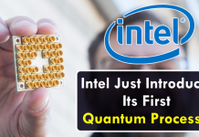 Intel Just Introduced Its First Quantum Processor