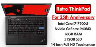 Lenovo Just Unveiled Retro ThinkPad For 25th Anniversary